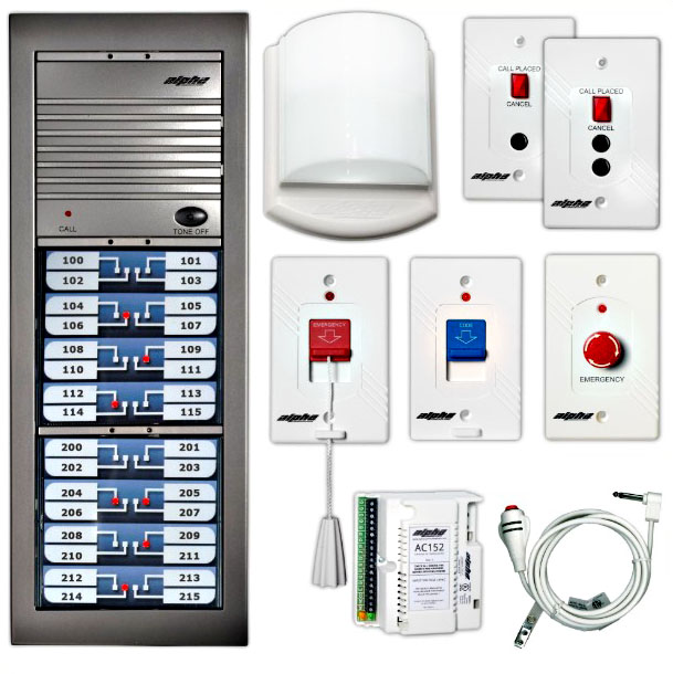 alphacommunications NURSE CALL-systems-